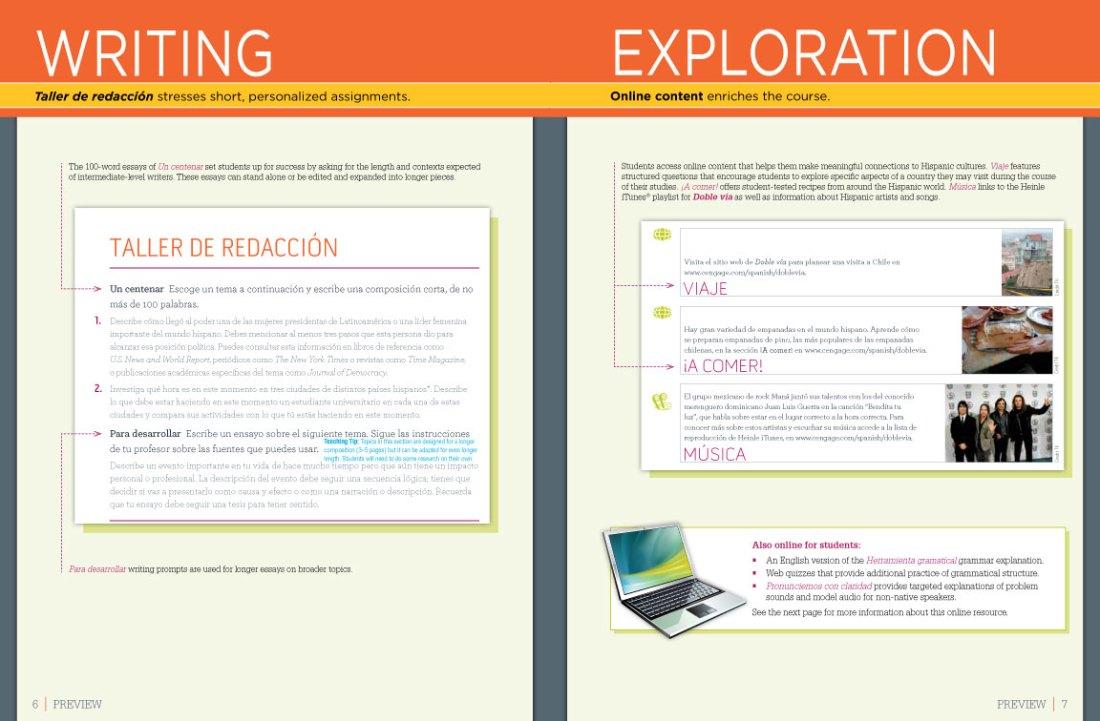 Doble via Preface pages 6–7