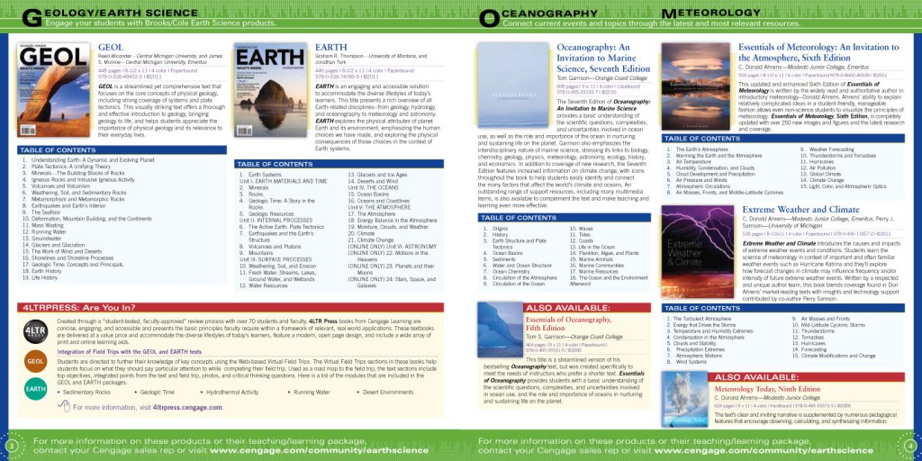 Earth Science Catalog pages 3-4