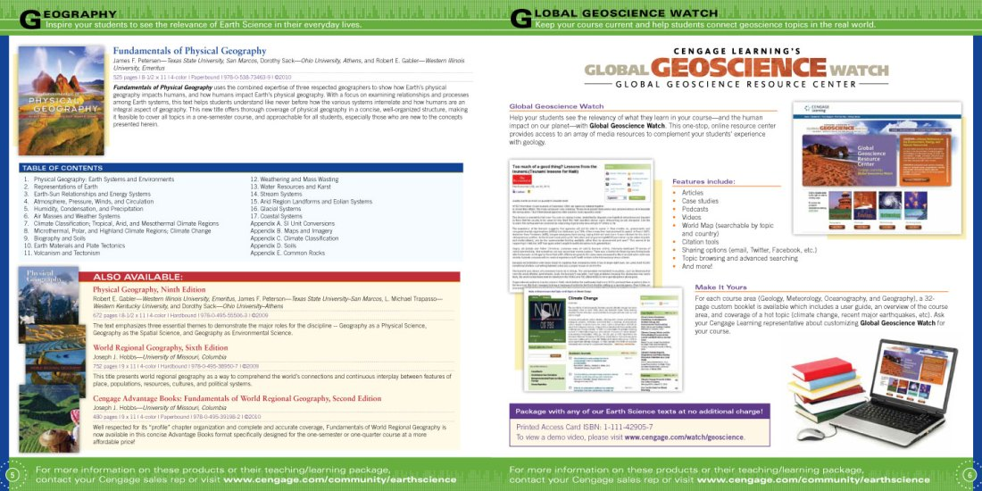 Earth Science Catalog pages 5-6