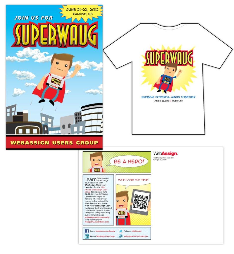 WAUG Conference Postcard & T-shirt