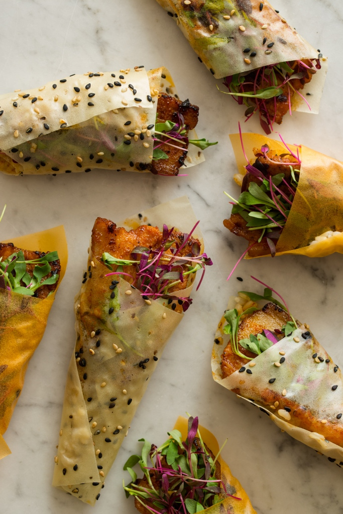 Spicy_marinated_pork_Belly_hand_rolls